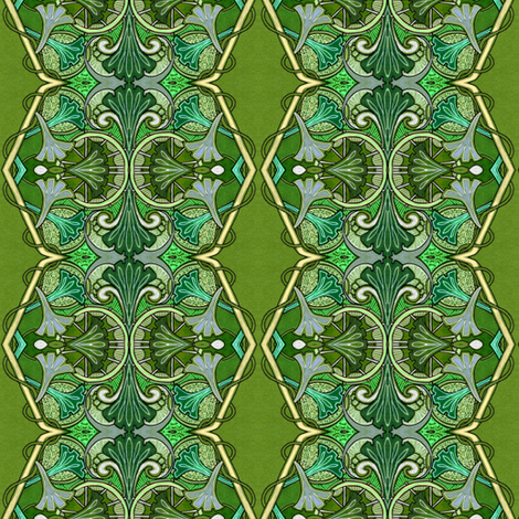 As the Vine Entwines fabric by edsel2084 on Spoonflower - custom fabric