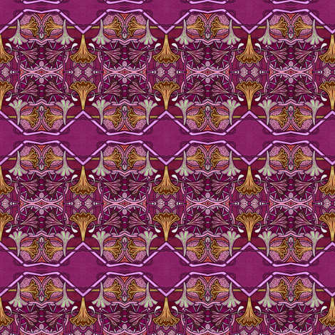 Have a Burgundy Day fabric by edsel2084 on Spoonflower - custom fabric