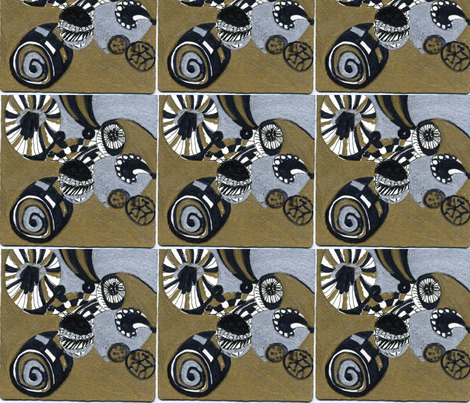 Japanese fabric by pink_finch on Spoonflower - custom fabric