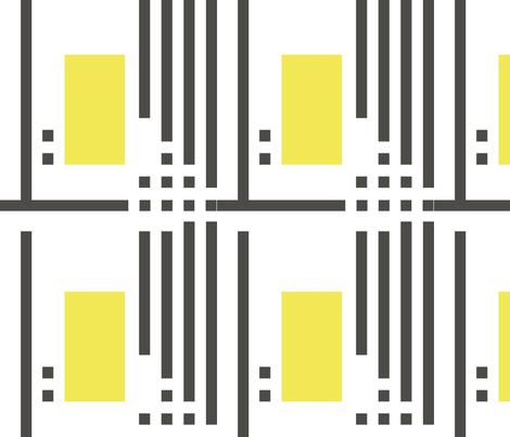 ping-house-safflower fabric by wren_leyland on Spoonflower - custom fabric