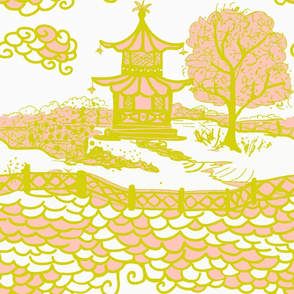 Cloud_Pagoda Acid Pink