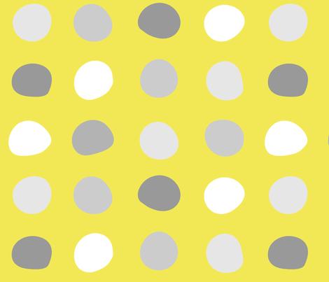 safflower-bg-circles fabric by wren_leyland on Spoonflower - custom fabric