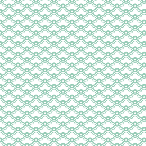 matsukata mini in jade fabric by chantae on Spoonflower - custom fabric