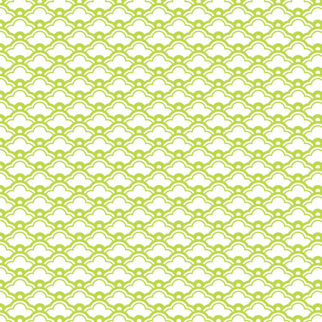 matsukata mini in peridot fabric by chantae on Spoonflower - custom fabric