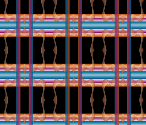 Fabric_Stripes_SoChic fabric by vannina on Spoonflower - custom fabric