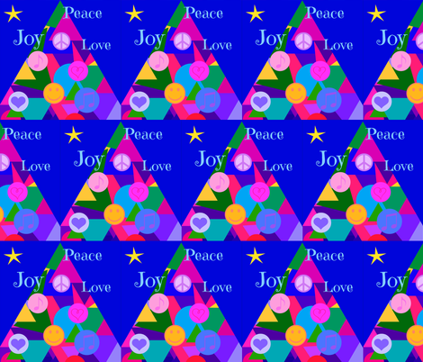 Holiday Wishes fabric by painter13 on Spoonflower - custom fabric