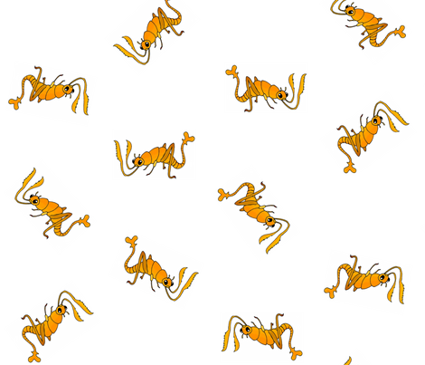 Rust Monster fabric by tanith on Spoonflower - custom fabric
