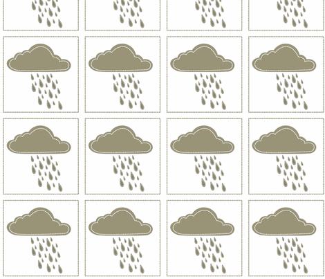 Cloud 9 Cloudburst Patch fabric by designedtoat on Spoonflower - custom fabric