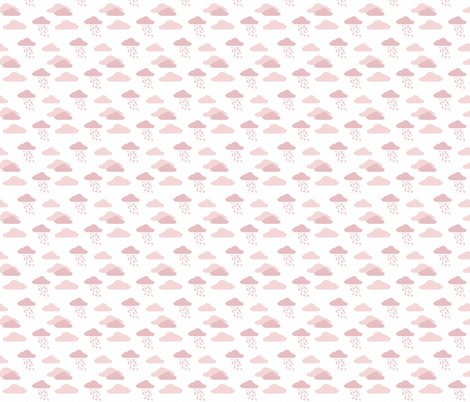 Cloud 9 Cloudburst Dusk fabric by designedtoat on Spoonflower - custom fabric