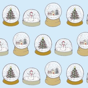 christmas snowglobes