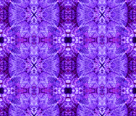 Glows in the Dark - purple fabric by susaninparis on Spoonflower - custom fabric