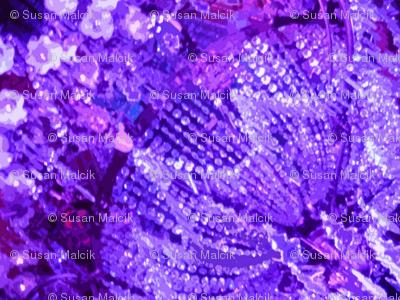 Glows in the Dark - purple & large