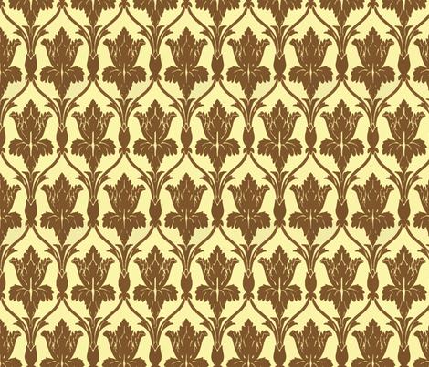 The Walls Of 221b Baker Street Wallpaper Fentonslee Spoonflower
