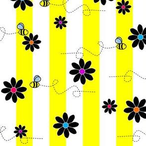 Buzz Bee Yellow Stripes