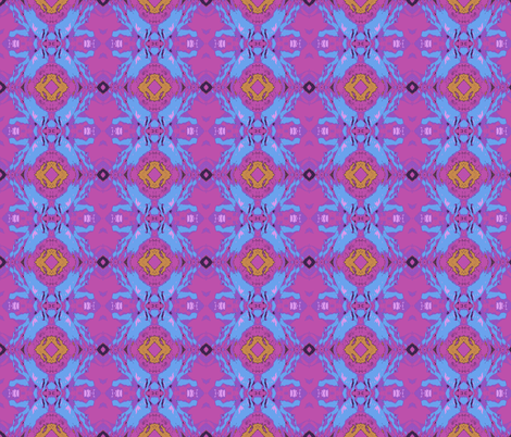 Loco Motion - enhanced colors fabric by susaninparis on Spoonflower - custom fabric