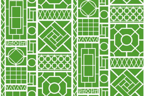 Trellis on 509d30 fabric by danikaherrick on Spoonflower - custom fabric