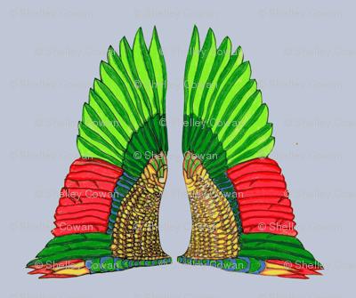 Nouveau wings