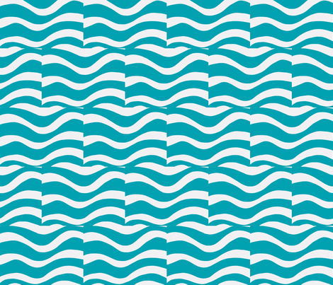 Water Me-ch fabric by syllatham on Spoonflower - custom fabric