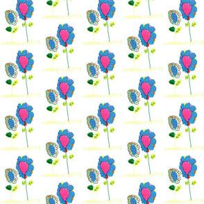 Mira's flowers (smaller) for Wallpaper
