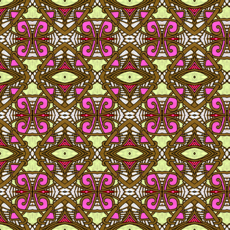 Pardon Me But I'm All Tied Up Right Now fabric by edsel2084 on Spoonflower - custom fabric