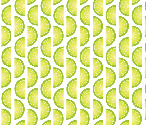 limes fabric by melhales on Spoonflower - custom fabric