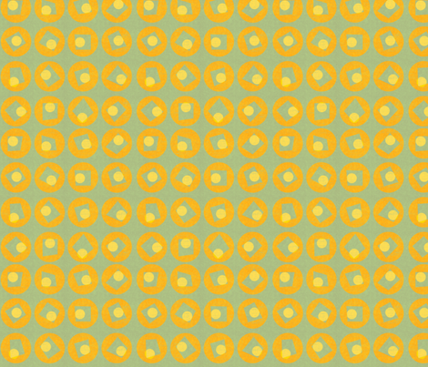 tangerine fabric by glimmericks on Spoonflower - custom fabric