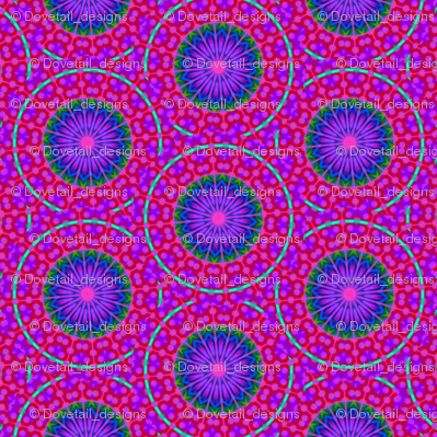 Flower Power - 14 Needles and Leaf Pattern