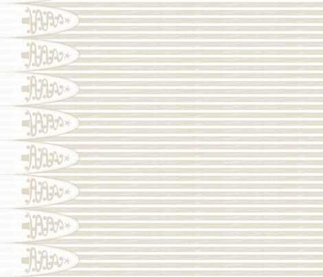 turn90 holiday tree stripe beige fabric by glimmericks on Spoonflower - custom fabric