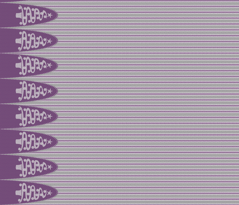 Turn90 Holiday tree stripe purple gray fabric by glimmericks on Spoonflower - custom fabric