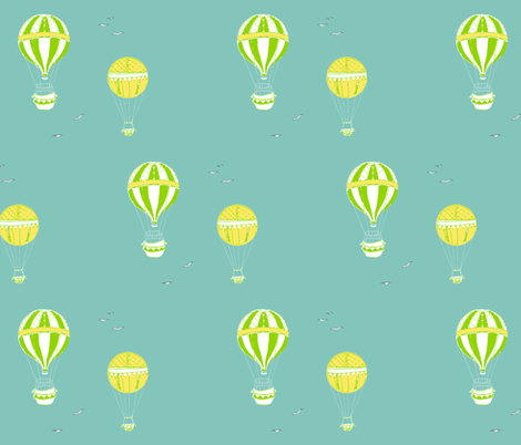 balloons fabric by stephaniejones on Spoonflower - custom fabric