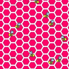 Buzz Bee Pink Hive