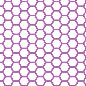 Hive - Purple and White