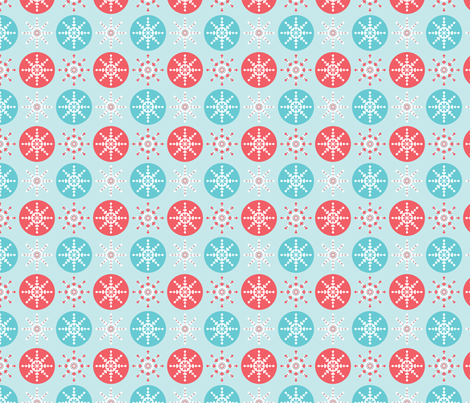 Baubles fabric by laurenbritchford-design on Spoonflower - custom fabric