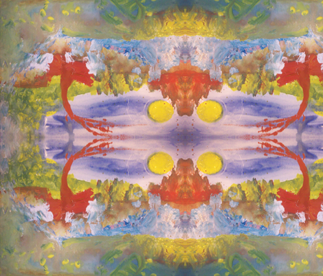 Sun Dance fabric by myartself on Spoonflower - custom fabric