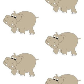 Hippo-White