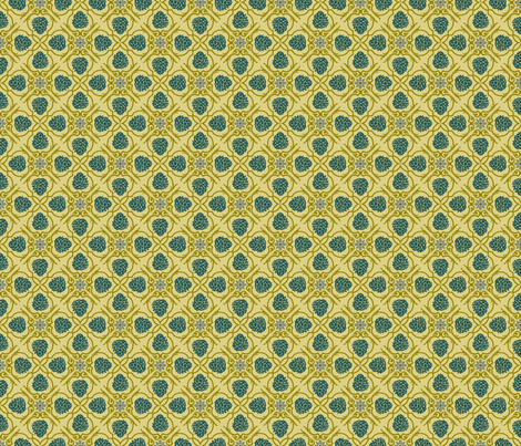 pine damask fabric by brandbird on Spoonflower - custom fabric