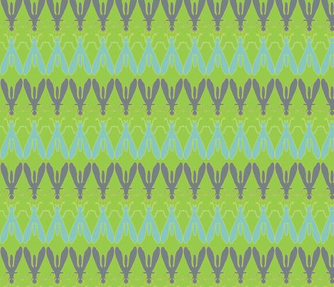 Fly of Fancy fabric by hippylongstockings on Spoonflower - custom fabric