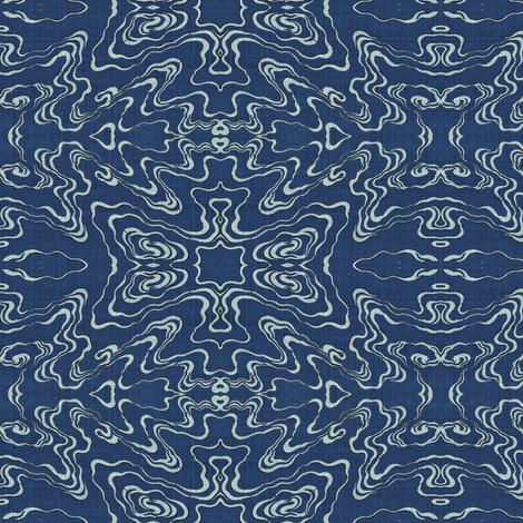 ripple - blue pools fabric by materialsgirl on Spoonflower - custom fabric