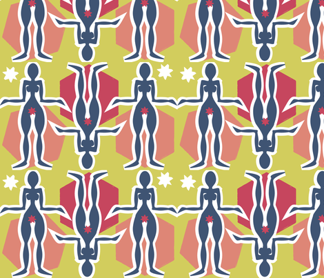 matisse fabric by hippylongstockings on Spoonflower - custom fabric
