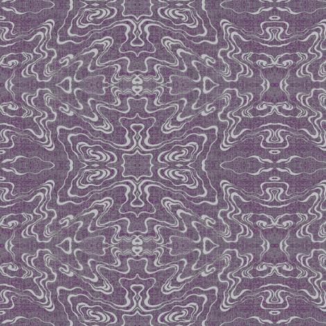 Ripple - plum fabric by materialsgirl on Spoonflower - custom fabric