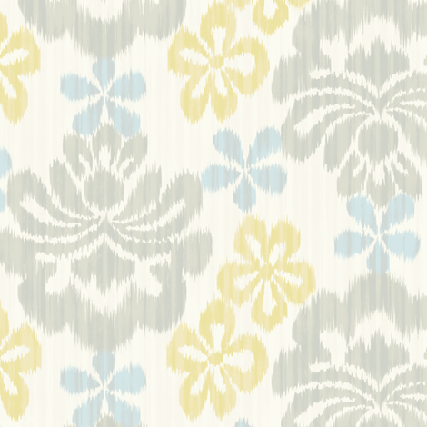 La Sarasa - baby blue - fabric by frumafar on Spoonflower - custom fabric