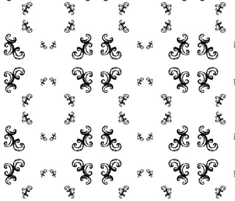 swirls2 fabric by msnina on Spoonflower - custom fabric