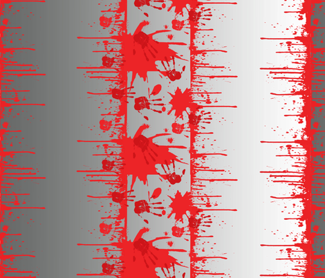 Samurai action fabric by susiprint on Spoonflower - custom fabric