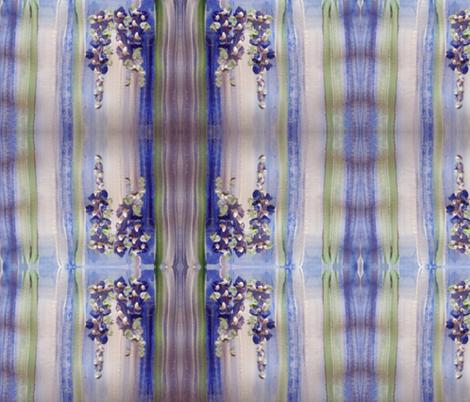 Blue regency stripe fabric by myartself on Spoonflower - custom fabric