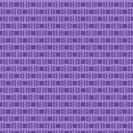 Open Windows - Violet fabric by siya on Spoonflower - custom fabric