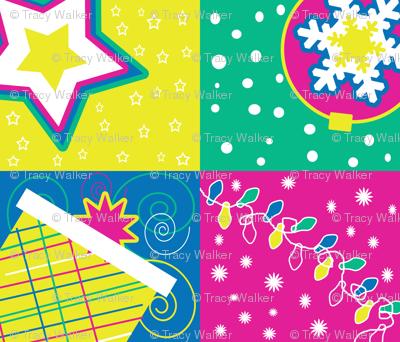 Retro Holiday Cocktail napkins 2012