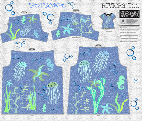 SEA SCAPE  fabric by bluevelvet on Spoonflower - custom fabric
