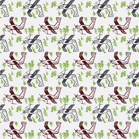 DHC2 Beaver 2 fabric by nefernika on Spoonflower - custom fabric