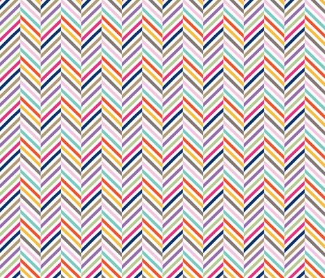 Herringbone Candies  fabric by jara_by_jacki on Spoonflower - custom fabric