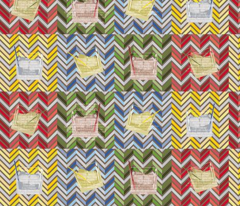 Tipsy Holidays fabric by leighr on Spoonflower - custom fabric